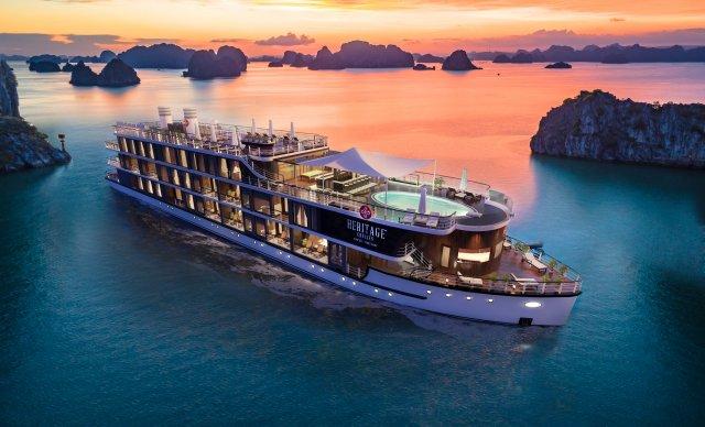 groupe lux- heritage cruises vietnam