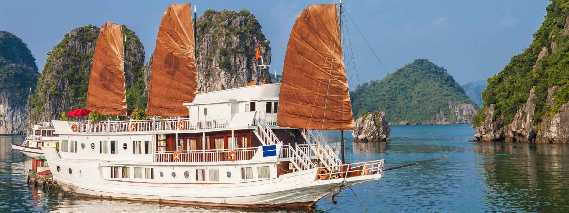 Ha Long archipel au large du Golfe du Tonkin 3 jours